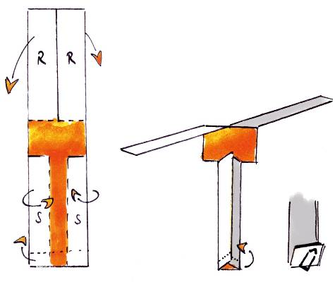 papierhelikopter experimente kon te xis lernwerkstatt aus und fortbildung tjfbg ggmbh. Black Bedroom Furniture Sets. Home Design Ideas