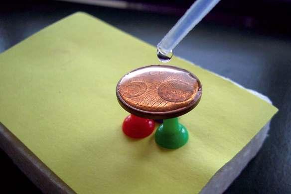 Wassertropfenspiel Experimente Kon Te Xis Lernwerkstatt Aus